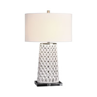 Dania 30 inch 150 watt White Table Lamp Portable Light