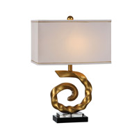 Uttermost Chania 1 Light Table Lamp in Gold 27279-1