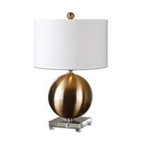 Laton 25 inch 150 watt Brass Table Lamp Portable Light