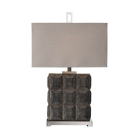 Uttermost Kastoria 1 Light Table Lamp in Rusty Bronze 27301-1