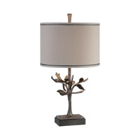 Uttermost Leova 1 Light Table Lamp in Rust Bronze 27309-1