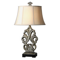 Uttermost Vicalvi Table Lamp in Antiqued Silver 27388 thumb