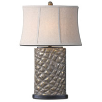 Uttermost Armando 1 Light Table Lamp in Heavily Distressed Rust Gray 27401