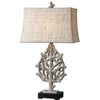 Uttermost Padroni Wood Styled Table Lamp in Wood Style 27460 photo thumbnail