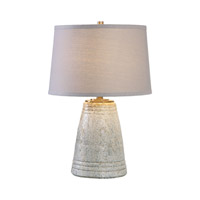Cholet 24 inch 150 watt Textured Ceramic Table Lamp Portable Light