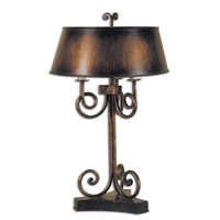 Uttermost Skyler Table Table Lamp in Gold Leaf Undercoat 27540
