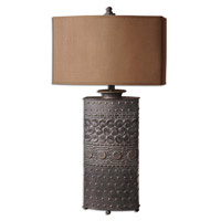 Uttermost Shakia Table Table Lamp in Distressed Olive Bronze 27630-1