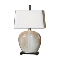 Uttermost Baycliff 1 Light Table Lamp in Beige Ceramic 27664