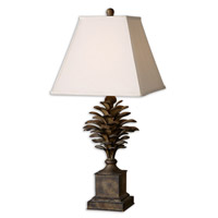 Uttermost Suzuha Table Lamp in Heavily Burnished Antique Wash 27667