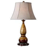 Uttermost Algona Table Lamp in Honey Gold 27693