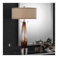 Uttermost 27706 Garonne 35 inch 75 watt Amber Bronze Table Lamp Portable Light