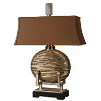 Uttermost Rhona Table Table Lamp in Antique Silver Leaf 27766