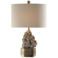 Uttermost Steel Fabric Table Lamps