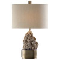 Uttermost 27790-1 Desert 26 inch 150 watt Antique Bronze Table Lamp Portable Light