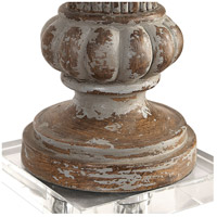 Uttermost 27863 Treneece 32 inch 150 watt Aged Pecan with Antique Gray Wash Table Lamp Portable Light 27863_A2.jpg thumb