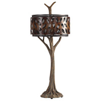 Uttermost 27877 Tremula 41 inch 150 watt Antiqued Metallic Gold and Antique Rustic Bronze Table Lamp Portable Light 27877_A.jpg thumb