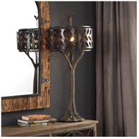 Uttermost 27877 Tremula 41 inch 150 watt Antiqued Metallic Gold and Antique Rustic Bronze Table Lamp Portable Light 27877_A1.jpg thumb