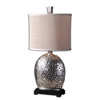 Uttermost Harrison Silver Table Table Lamp in Nickel Plated 27942-1