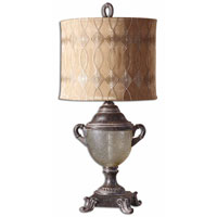 Uttermost Ottavia Table Table Lamp in Distressed Burnt Brown 27966-1 thumb