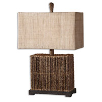Uttermost Barbuda Table Table Lamp in Natural Palm Branches Strung Together 27994-1