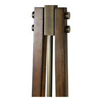 Uttermost 28105 Boydton 66 inch 150 watt Burnished Wood Floor Lamp Portable Light alternative photo thumbnail