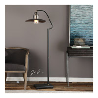 Arkutino 61 inch 60 watt Aged Black Iron Floor Lamp Portable Light