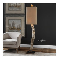 Liana Vine 73 inch 60 watt Antiqued Silver Champagne Floor Lamp Portable Light