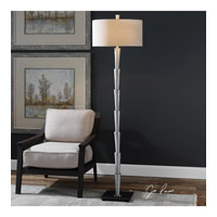 Calder 72 inch 150 watt Brushed Nickel Plated Floor Lamp Portable Light
