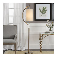 Balaour 66 inch 100 watt Antique Brass Plated Steel Floor Lamp Portable Light