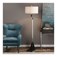Levally 66 inch 150 watt Brushed Nickel Plated Floor Lamp Portable Light