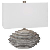 Uttermost 28210-1 Talucah 22 inch 150 watt Gray Table Lamp Portable Light