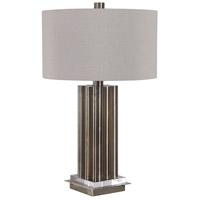 Uttermost 28261-1 Conran 26 inch 100 watt Brass Table Lamp Portable Light