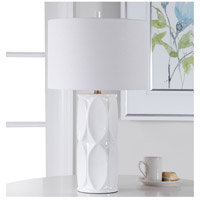Uttermost 28342-1 Sinclair 26 inch 150 watt White Table Lamp Portable Light 28342-1_beauty.jpg thumb