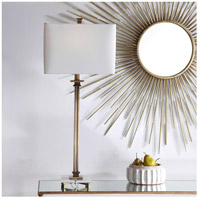 Uttermost 28349-1 Phillips 34 inch 100 watt Brass Table Lamp Portable Light 28349-1_beauty.jpg thumb