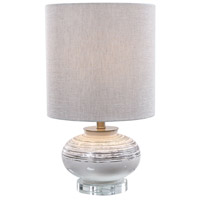 Uttermost Crystal and Ceramic Table Lamps