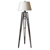 Uttermost 28460 Tustin 68 inch 150 watt The Tripod Base Has An Oxidized Bronze Table Lamp Portable Light