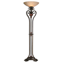 Uttermost Andra Torchier Floor Lamp in Golden Bronze 28842-1