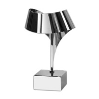 Uttermost Guillet 1 Light Desk Lamp in Chrome Plated 29043-1