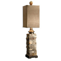 Andean 31 inch 100 watt Varying Tones Of Ivory And Browns Table Lamp Portable Light