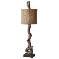 Uttermost 29163-1 Driftwood 40 inch 100 watt Weathered Driftwood Table Lamp Portable Light