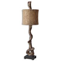 Uttermost 29163-1 Driftwood 40 inch 100 watt Weathered Driftwood Table Lamp Portable Light