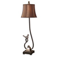 Uttermost Peaceful Table Lamp in Rustic Dark Bronze Base 29165