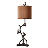Uttermost Three Little Birds Table Lamp in Rustic Bronze 29168-1