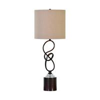 Uttermost 29229-1 Aprilia 32 inch 150 watt Dark Bronze Table Lamp Portable Light