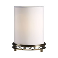Uttermost Navassa 1 Light Table Lamp in Antique Coffee Bronze 29250-1