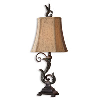 Uttermost Caperana Set of 2 Table Lamp in Matte Black 29271-2