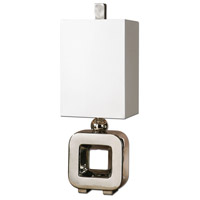 Uttermost Hugo Contemporary Lamp in Polished Nickel 29324-1