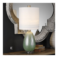 Uttermost 29384-1 Aileana 33 inch 150 watt Frosted Rust Green Lamp Portable Light
