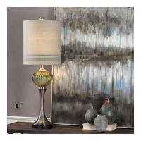Uttermost 29388-1 Ivalyn 36 inch 150 watt Brushed Nickel Plated Iron Lamp Portable Light