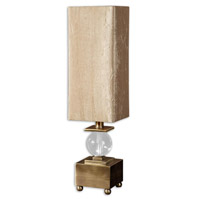 Ilaria 26 inch 60 watt Coffee Bronze Table Lamp Portable Light
